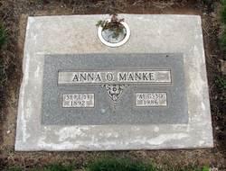 Anna <I>Ott</I> Manke