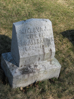 Minerva Josephine <I>Dow</I> Alexander