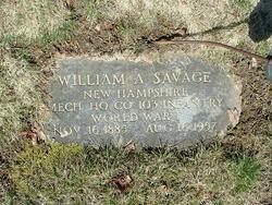 William Arthur Savage