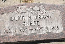 Wilma Ann <I>Wright</I> Reese