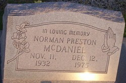 Norman Preston McDaniel