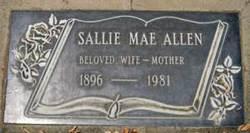 Sallie Mae <I>Wright</I> Allen