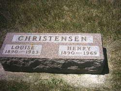 Louise <I>Deppe</I> Christensen