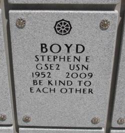 Stephen Edward Boyd