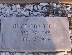 Alice Ann Teele