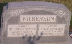 Belle <I>Whiteside</I> Wilkerson