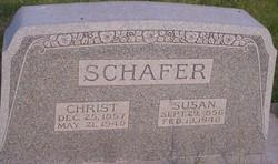 """Johann Christian """"Christ"""" Schafer, Sr"""