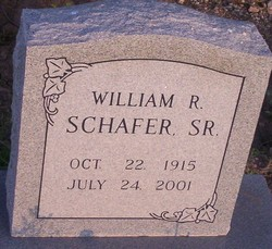 William R. Schafer, Sr