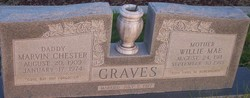 Willie Mae <I>Langford</I> Graves