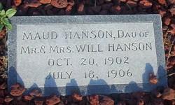 Maud Hanson