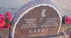 Dorothy <I>Ferrell</I> Hardy