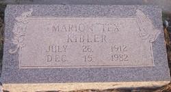 Marion  Tex Kibler