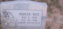 Clarence Rodger Mize