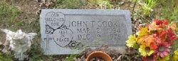 John T Cook, Jr