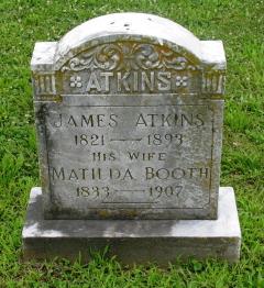 Matilda <I>Booth</I> Atkins
