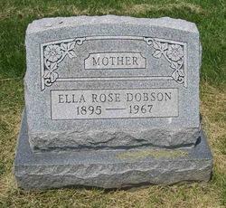 Ella Rose <I>Donley</I> Dobson