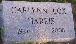 Carlynn Cordelia <I>Cox</I> Harris