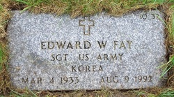 Edward W Fay