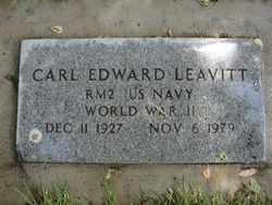 Carl Edward Leavitt