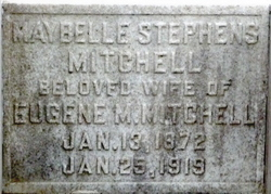 "Mary Isabel ""Maybelle"" <I>Stephens</I> Mitchell"