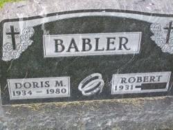Doris <I>Mueller</I> Babler