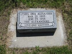 Lessel Ora Alexander