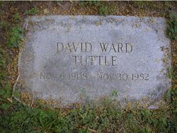 """David Ward """"Ward"""" Tuttle"""