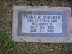 Frank Wayne Crocker