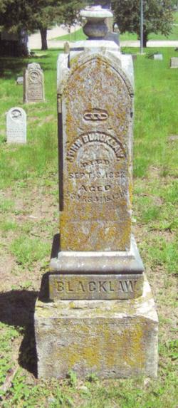 John Berton Blacklaw