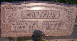 """William Joseph """"Joe"""" Williams"""