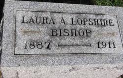 Laura A <I>Lopshire</I> Bishop