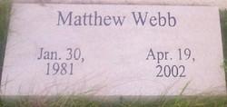 Matthew Webb