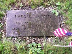 Harold P Adams