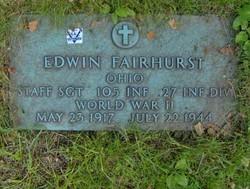 Sgt Edwin Fairhurst
