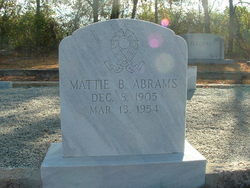 Mattie Beatrice Abrams