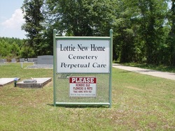 Lottie New Home Cemetery