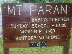 Mount Paran Baptist Church Cemetery