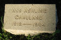 Ann <I>Wells-Ashling</I> Challand