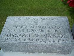 Margaret Mae <I>Weber</I> Maynard