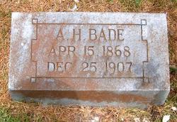 Adolph H Bade