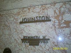 Kenneth W Johnston