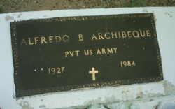 Pvt Alfredo B. Archibeque