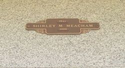 Shirley Mildred <I>Waller</I> Meacham
