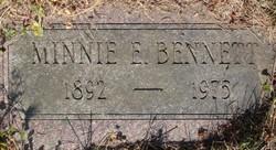 Minnie Ettalee <I>Hodges</I> Bennett