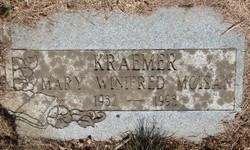 Mary Winifred <I>Moisan</I> Kraemer