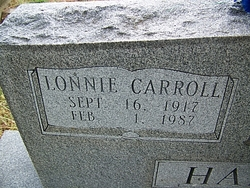Lonnie Carroll Hamrick