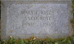 Mary Elizabeth <I>Kelly</I> Snelgrove