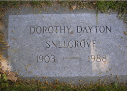 Dorothy <I>Dayton</I> Snelgrove