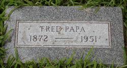 "Feitze Jans ""Fred"" Papa"