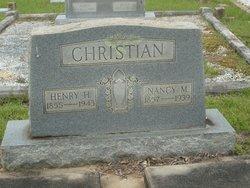 Nancy Ann Missouri <I>Johnson</I> Christian